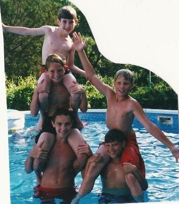 2001 Ty, Alex, Ryan, Stevie, Daniel